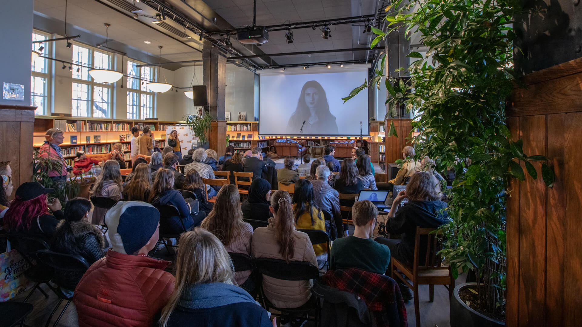 Event at Deichman Grünerløkka Library, Oslo